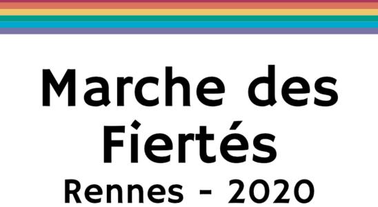 Annulation Marche des Fiertés Rennes 2020
