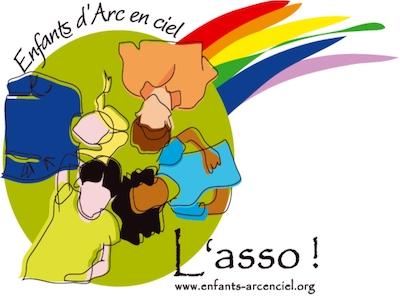 Logo Enfants d'Arc en ciel