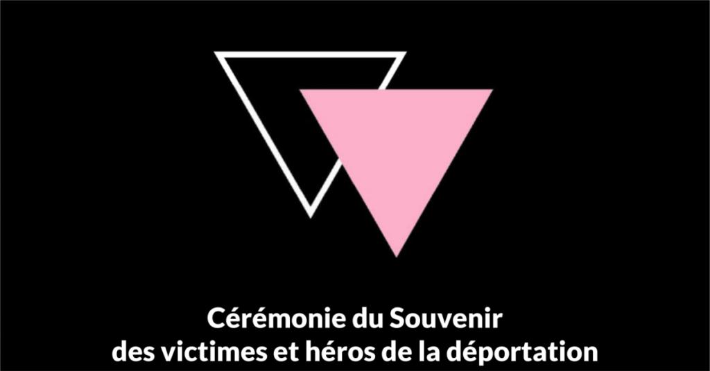 Cérémonie du Souvenir des victimes et héros de la déportation