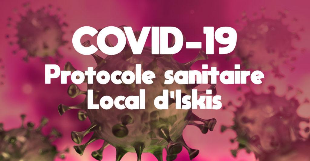 COVID-19 Protocole sanitaire local d'Iskis