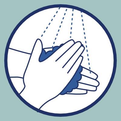Geste barrière lavage de mains
