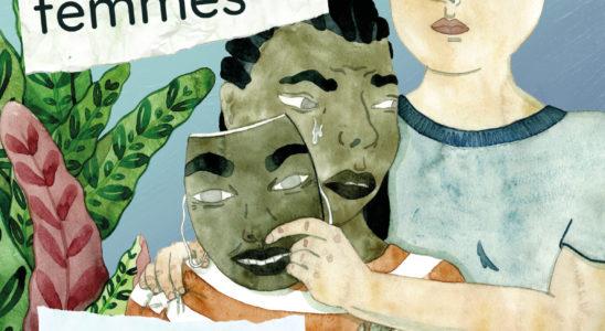 Affiche de la campagne contre les violences dans les couples de femmes