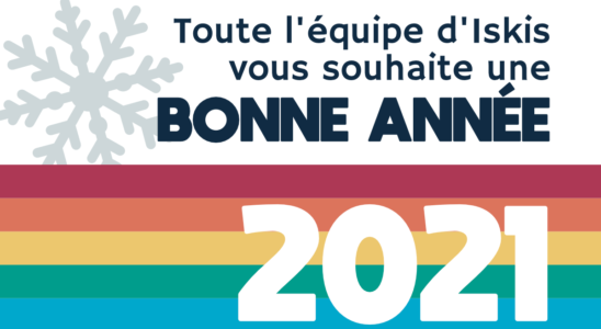 Visuel de voeux 2021