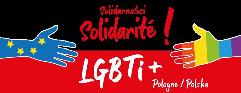 Visuel Solidarité LGBTI+ Pologne